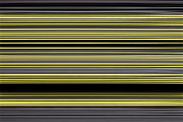 Streepjespatroon zwart geel van Andree Jakobson