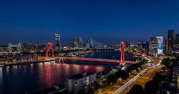 Rotterdam city lights von Midi010 Fotografie