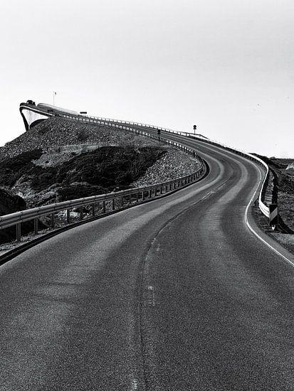 De Atlantische Weg, Noorwegen  van Jasper den Boer