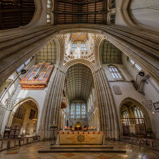 Bury St. Edmunds Cathedral van Hans Kool