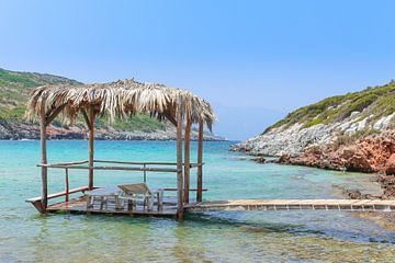 Livadaki Beach Samos Griechenland von Patrick Löbler