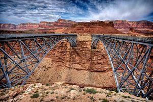 Navajo-Brücke, Colorado von Marcel Wagenaar