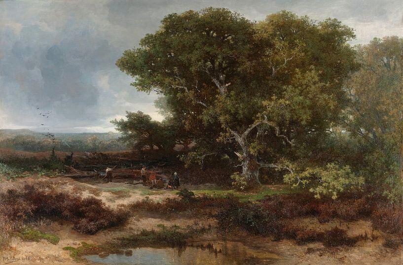 The Heath near Wolfheze, Johannes Warnardus Bilders von Meesterlijcke Meesters