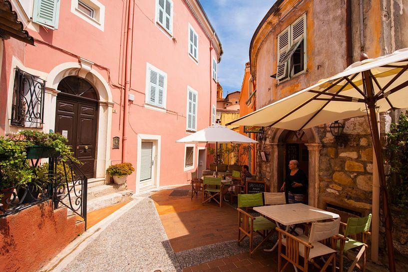 Italian town square van Brian Morgan