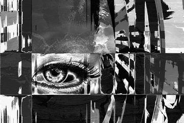 Eye of walls van Abra van Vossen