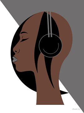Jazz (Bruin) van Ton van Hummel (Alias HUVANTO)