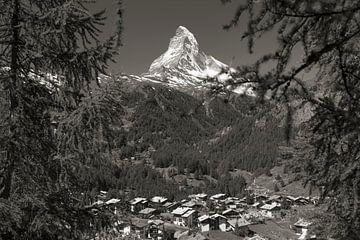 Zermatt et le Cervin sur Menno Boermans