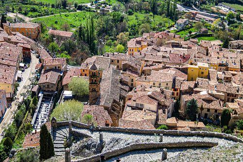 Moustiers-Sainte-Marie, dorpje in de Provence