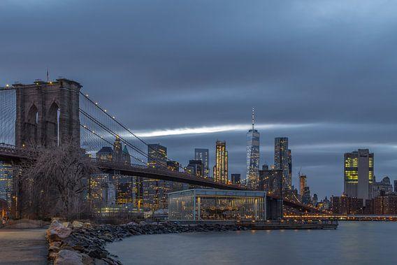 Brooklyn Bridge van Rene Ladenius