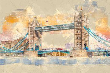 London Tower Bridge von Peter Roder