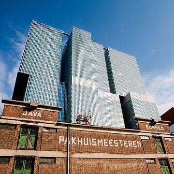 Nieuw boven oud - Pakhuismeesteren en DeRotterdam von Pieter Wolthoorn