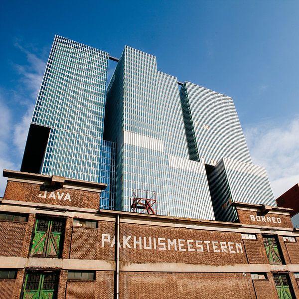 Nieuw boven oud - Pakhuismeesteren en DeRotterdam van Pieter Wolthoorn