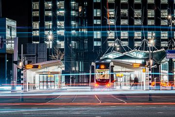 U-Bahn-Station in Rotterdam von Hanno de Vries