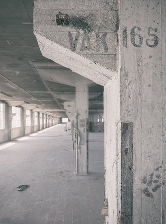 Verlaten plekken: Sphinx fabriek Maastricht Eiffelgebouw Vak 165