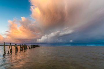 Waddenzee 5 van Peter Bijsterveld