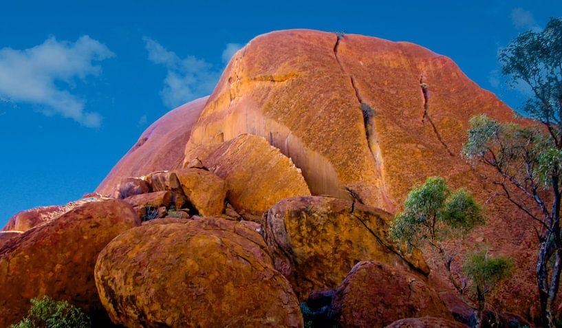 Onverwacht Uluru, Australië van Rietje Bulthuis