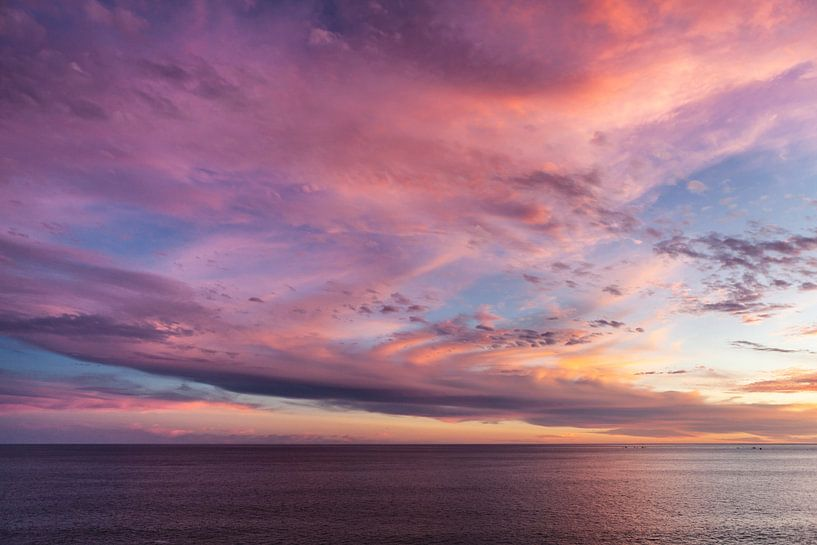 Sultry Sunset van Nanouk el Gamal - Wijchers (Photonook)