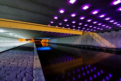 Tunnel Rhijnoord aan de Rijksstraatweg in Utrecht van Donker Utrecht
