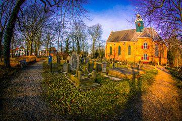 slotkapel met kerkhof van