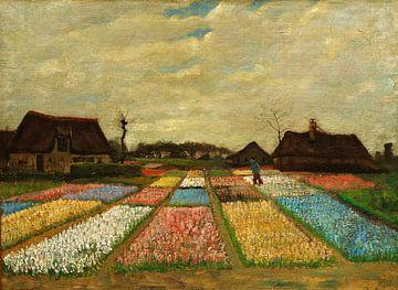 Vincent van Gogh Blumenbeete in Holland von 1000 Schilderijen