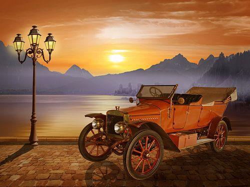 Oldtimer am See von