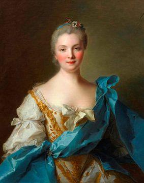Madame de La Porte, Jean-Marc Nattier