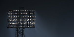 "Stadionlamp Feyenoord Stadion ""De Kuip"" in Rotterdam (formaat 2/1)"