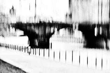 Srteet fotografie Berlijn - Alleen aan de Spree