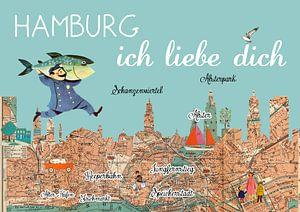 Hamburg ich liebe dich van