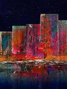 Skyline 2021 van Andreas Wemmje