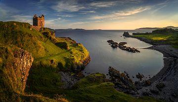 Gylen Castle sur