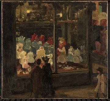 Shop Window, Isaac Israels von Meesterlijcke Meesters
