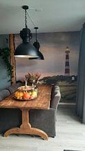 Klantfoto: Ameland Sunrise van Jan Hoekstra, als behang