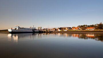 Le Midsland Terschelling a accosté à Vlieland sur Gerard Koster Joenje (Vlieland, Amsterdam & Lelystad in beeld)
