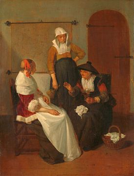 Ein vertrauliches Gespräch, Quiringh Gerritsz. van Brekelenkam
