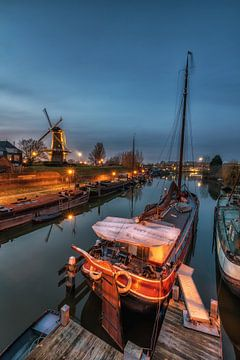Historischen Hafen von Jan Koppelaar