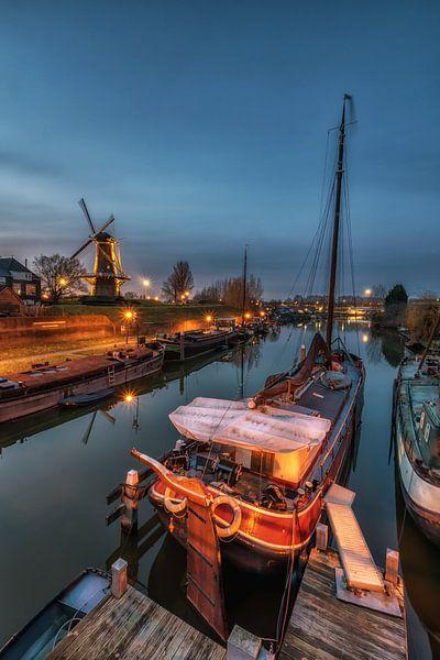 Historische haven van Jan Koppelaar