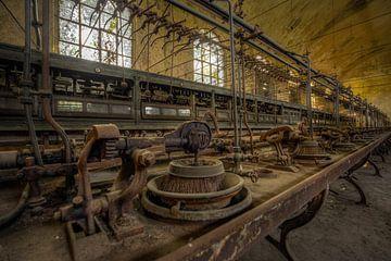 Verlassene Fabrikhalle Italien von Wesley Van Vijfeijken
