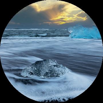 IJs op het Diamantstrand van Tilo Grellmann | Photography