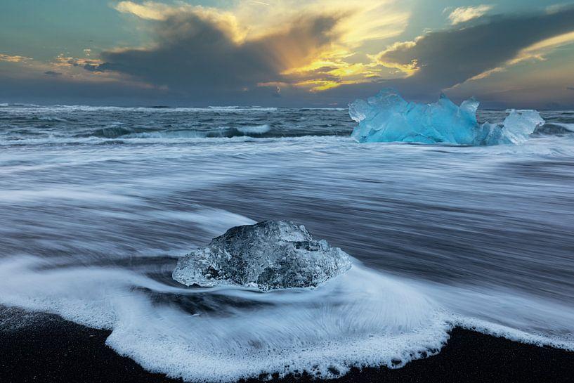 Glaces à la plage de Diamond sur Tilo Grellmann | Photography