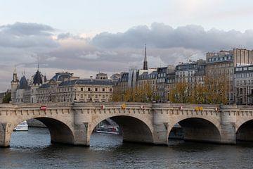 Panorama von Paris vom Fluss aus von Alexander Bogorodskiy