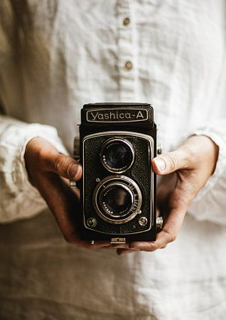 Oude camera van Melanie Schat