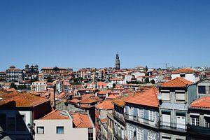Porto rooftops van Mike Landman