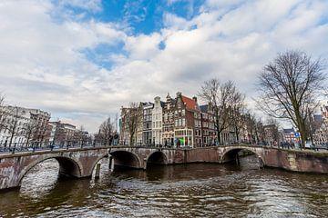 Amsterdam Keizersgracht 562-564 von Sjoerd Tullenaar