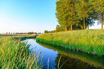 Zonsopgang tijdens de lente in de IJsseldelta van Sjoerd van der Wal