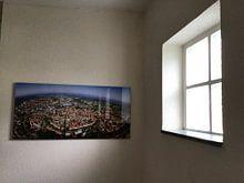 Klantfoto: Amersfoort in Panorama van  , op staal