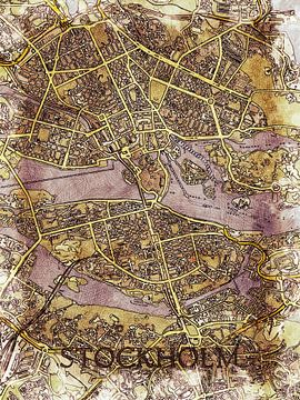 Stockholm van Printed Artings