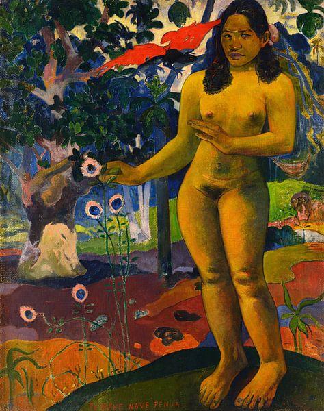 Te Nave Nave Fenua , Paul Gauguin von Meesterlijcke Meesters