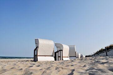 Strandkörbe zwischen Lobbe und Thiessow auf Rügen von GH Foto & Artdesign