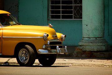 Oldtimer Cuba van Davide Indaco